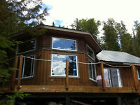 QUESNEL LAKE CABIN FOR SALE