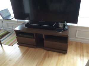 Flat Screen TV Table/Cabinet, MUST be sold!