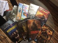 Brand new and sealed DVDs
