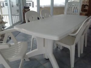 Ensemble de table et chaises