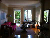 $1600 / 4br - 1100ft2 - Bright, cozy and spacious apt: Outremont