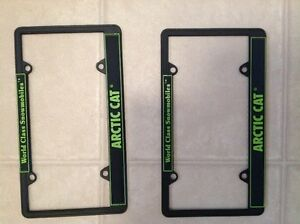 Arctic Cat License Plate frames