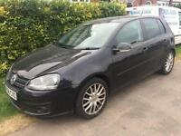 2008 58 VOLKSWAGEN GOLF 2.0 GT TDI 5DR LEATHER 138 BHP DIESEL