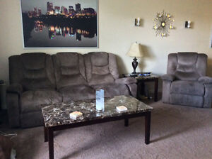 Matching living room set with matching kitchen table