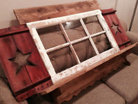 Rustic Barn Window Wall Decor
