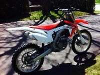 HONDA CRF 250R 2014 INJECTION, DOUBLE EXHAUST