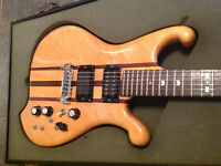 Lado Falcon 1 vintage guitar, neck thru, coil tap, Varitone etc