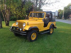 Jeep CJ 5 1974 4x4