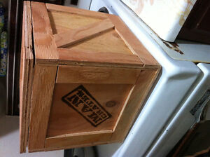 12 inch cubed crate for decorum or storage