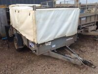Ifor Williams GD 85 with remove cover