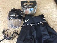 Hockey (roller/ice) protective equipment