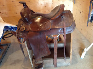 Emors model # 1590  Western Saddle for sale
