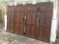 4 Solid Pine interior doors