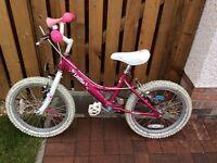 """Dawes Lottie 18"""" Wheel Girls Bike"""