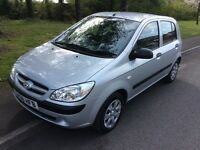 2008 Hyundai Getz 1.5 GSI CRTD Diesel-46,000-December 2017 mot-£30 tax-good economy
