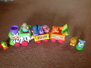 Little people musical train with animals London Ontario image 1