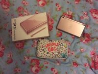 Nintendo DS (lite) with case