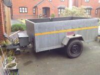 Galvanised trailer 8 x 5.3