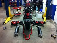 Motorcycle bike Safety, Service, Tires, upgrades, accessories