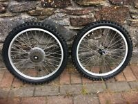 MOUNTAIN BIKE WHEELS WITH TYRES 20inch