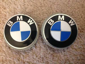 BMW wheel center caps
