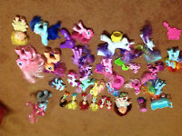 My little pony lot  and some strawberry shortcake toys