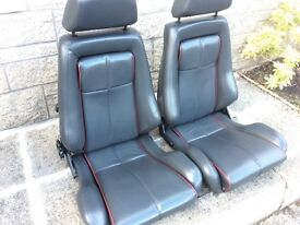 Ford capri Brooklands 280 leather seats interior