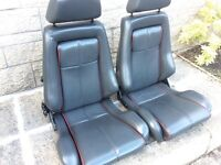 Ford capri Brooklands 280 leather seats interior