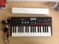 Akai Miniak Synthesizer + Vocoder