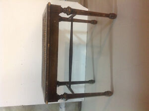 Antique Piano Bench w/ Caning