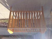 Free Mothercare baby crib Great condition!