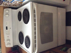 "GE 30"" electric stove/ oven"