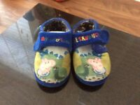 Size 6 Mothercare slippers