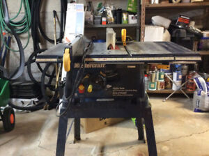 Table Saw Mastercraft- Scie D,établi 10""