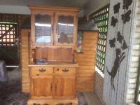 Real pine dresser