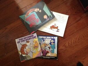 SET of 4 Calvin and Hobbes Collection
