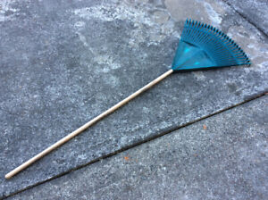 Poly lawn rake for sale