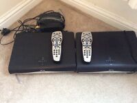 Sky box and router