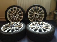 """Ford Fiesta Alloy wheels 16"""" and tyres"""