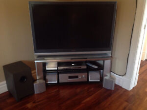 "46"" Sony Vega tv with Stand & Accessories"