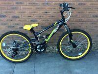 "Boys 20"" wheel mountain bike"