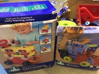 ELC big builder and build it workbench building toy