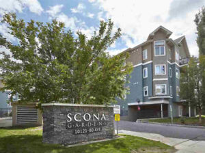 Executive 1 bed + den condo Whyte Ave $269, 900!