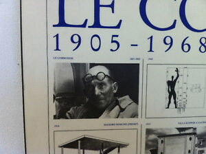Laminated Print Le Corbusier 1887-1965, 1905-1968 by Lidiarts Peterborough Peterborough Area image 6