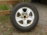 "Toyota RAV4 17"" Snow tires & steel wheels"