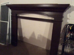 New Solid Wood Mantle