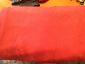 Large Rose Colored Tablecloth