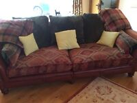 2x large 4seater sofas