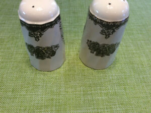 Friendly Village Salt & Pepper Shakers by Johnson Brothers