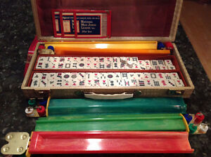 Jeu de Mah Jongg Antique / Vintage Mah Jongg set West Island Greater Montréal image 1